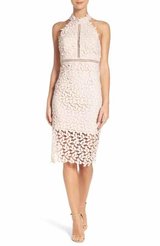 Triangle haler dress