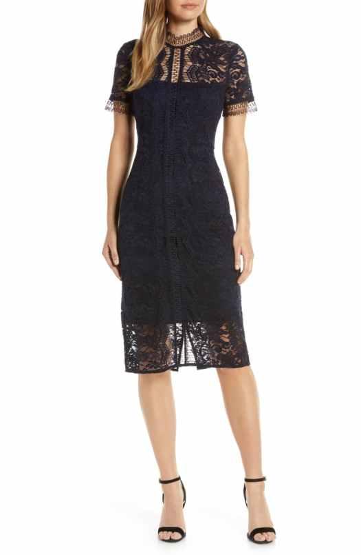 Hourglass sheath dress