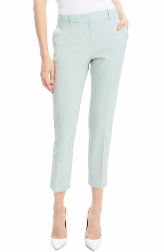 Hourglass cropped trousers