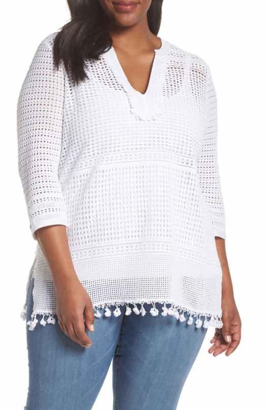 Inverted Triangle tunic top